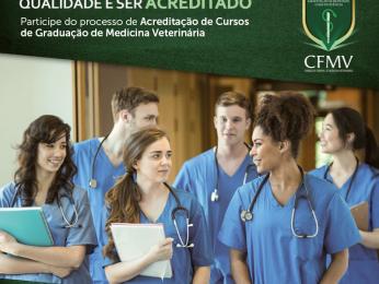 INSCRIÇÕES |Acreditação CFMV