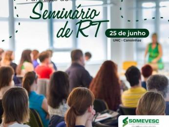 Seminário RT | 25 de junho | Canoinhas