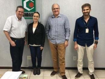 Somevesc propõe cooperação com CIDASC para pós em Inspeção de Produtos de Origem Animal