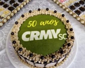 Somevesc parabeniza CRMV-SC pelos 50 anos