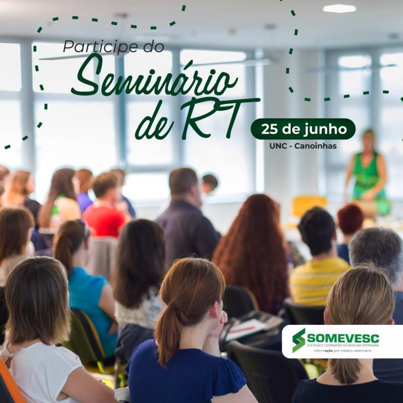 Seminário RT   25 de junho   Canoinhas
