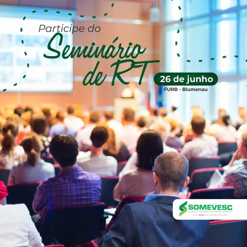 Seminário RT | 26 de junho | Blumenau