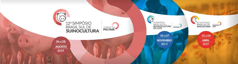 Último prazo para inscrições online do 12° Simpósio Brasil Sul de Suinocultura
